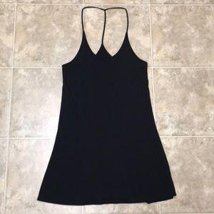Black mini dress from Aritzia